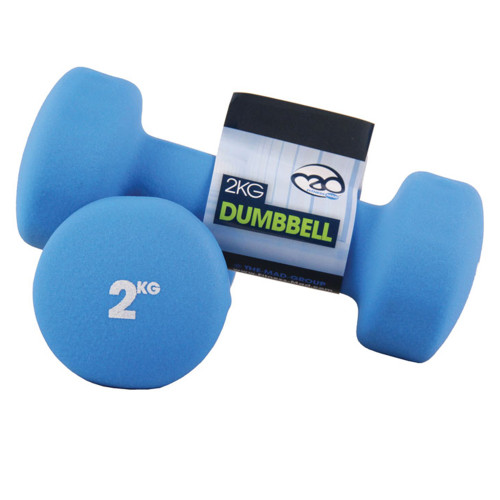 2KG NEOPRENE DUMBBELLS - PAIR