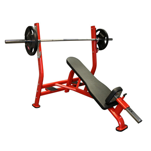 EXIGO OLYMPIC INCLINE BENCH (INC SPOT FEET)
