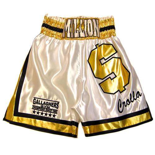 CUSTOM MADE DOLLAR WETLOOK BOXING SHORTS