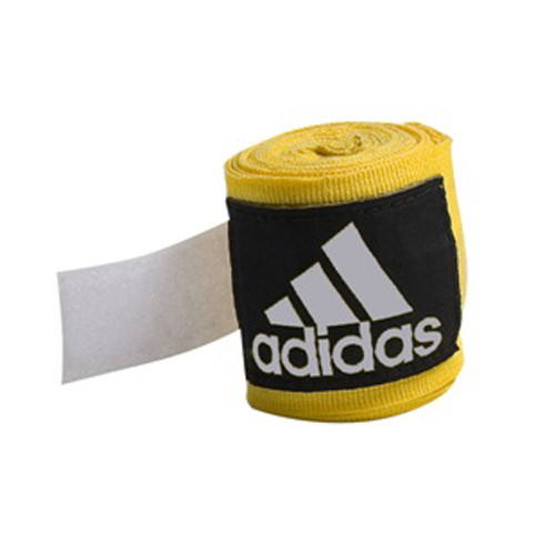ADIDAS 2.5M BOXING HAND WRAPS : Yellow