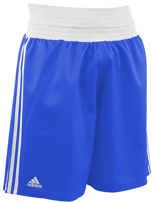 ADIDAS DIAMOND FLEX BOXING SHORTS: Blue: XSmall