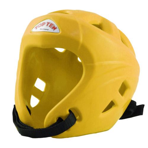 TOP TEN AVANTGARDE HEADGUARD : Yellow: Small