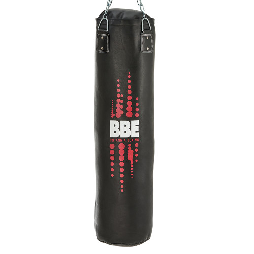 BBE CLUB LEATHER PUNCHBAG W/ CHAINS & SWIVEL