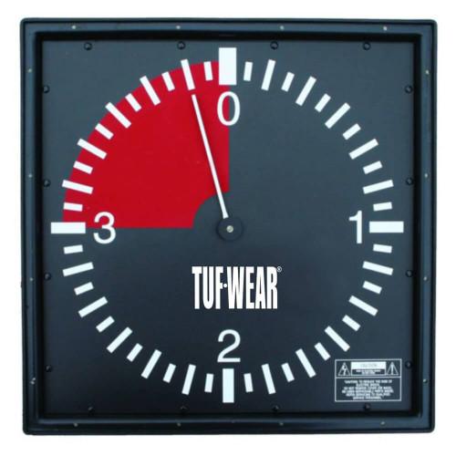 TUF WEAR 3 MINUTE PRO GYM WALL CLOCK