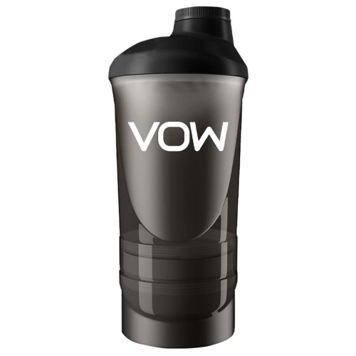 VOW NUTRITION 3 COMPARTMENT SHAKER