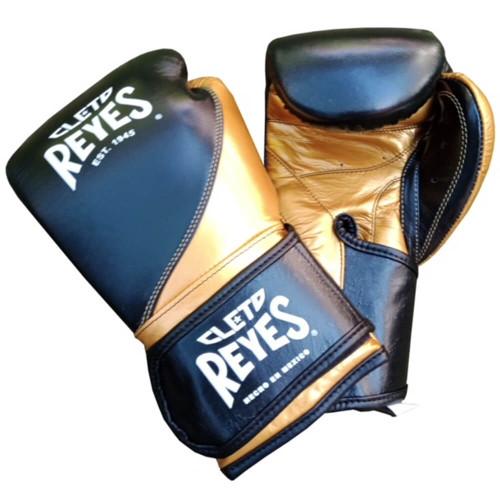 Cleto Reyes High Precision Training Gloves-Black/Gold
