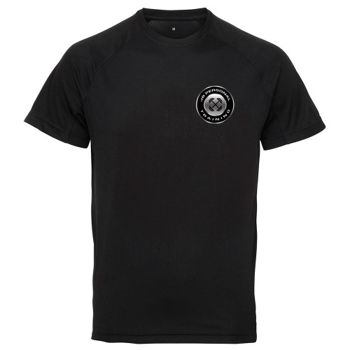 J B PERSONAL FITNESS PANELLED TECH TEE