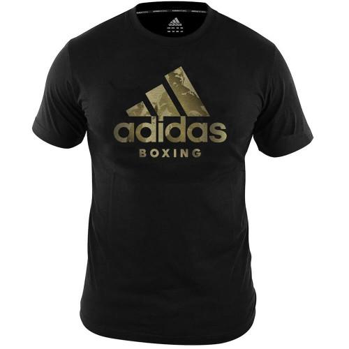 Adidas Gold Print Boxing T-Shirt