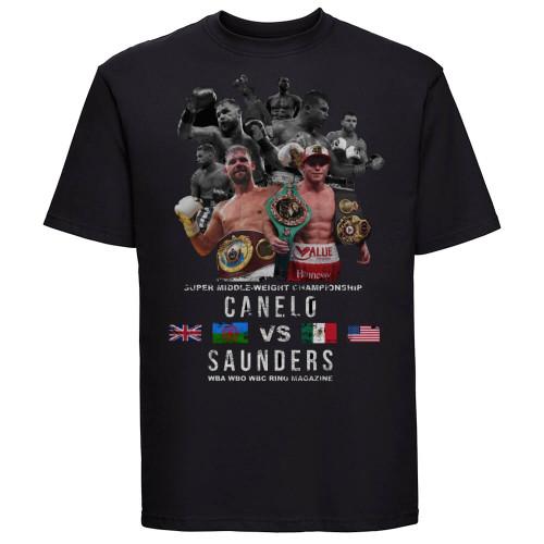 Canelo Alvarez vs Billy Joe Saunders T-shirt