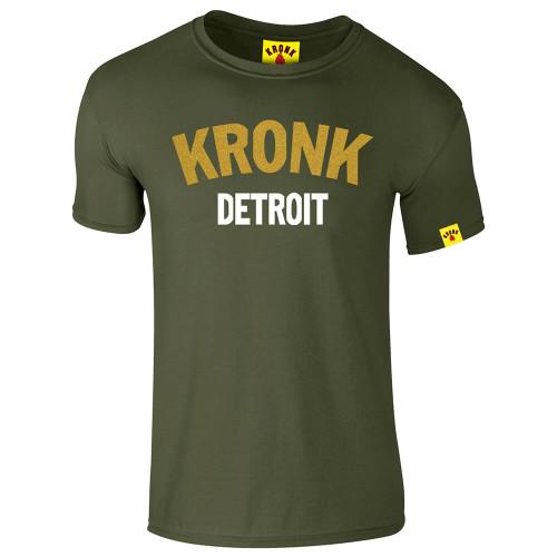 KRONK Detroit Gold Series Slimfit T Shirt