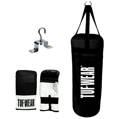 Tuf Wear Junior 2ft Punchbag Kit with Gloves