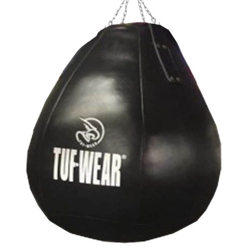 TUF WEAR ALL BLACK LEATHER WRECKING BALL