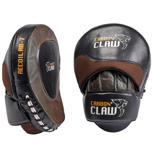 CARBON CLAW RECOIL RB-7 SERIES LEATHER HOOK & JAB PADS