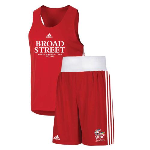 Broad Street Adidas Base Punch II Boxing Set