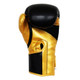 RINGSIDE PRO FITNESS PU METALLIC GLOVES