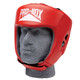 PRO BOX CLUB ESSENTIALS LEATHER HEADGUARD: RED