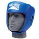 PRO BOX CLUB ESSENTIALS LEATHER HEADGUARD: BLUE