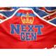 CUSTOM MADE SATIN UK FLAG BOXING SHORTS