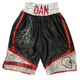 CUSTOM MADE SATIN AND SPARKLE BOXING SHORTS