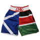 CUSTOM MADE SATIN NATIONAL FLAG BOXING SHORTS