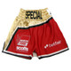 CUSTOM MADE SATIN TWO TONE BOXING SHORTS