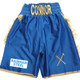 CUSTOM MADE SATIN AND TASSEL BOXING SHORTS