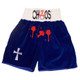 CUSTOM MADE VELVET BLOOD SPOT BOXING SHORTS