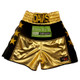 CUSTOM MADE VELVET AND WETLOOK BOXING SHORTS