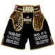 CUSTOM MADE VELVET LEOPARD BOXING SHORTS