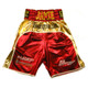 CUSTOM MADE TWO TONE WETLOOK BOXING SHORTS