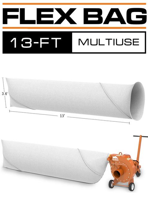 Insulation Vacuum Bag 13 FT MULTIUSE 120 CF