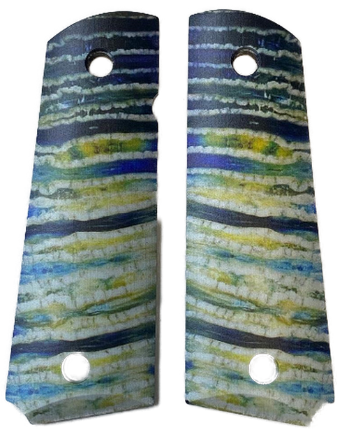 1911 Gun Grips Faux Mammoth Tooth Small Pattern