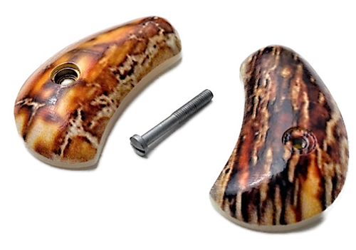 North American Arms UV printing of HD Picture Faux Mammoth over Pearl Magnum Gun Grip