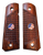 1911 Full Size Outback Rosewood Grips w/US Flag