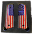1911 fits Grips Colt Gov & Clones Rustic 'OL Glory US Flag UV printed over laminate Diamond Wood