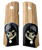 1911 full size Grips fit Colt Gov & Clones HD Picture of Grim Reaper UV Printed on wood.