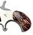 North American Arms Mother of Pearl .22lr/.22 Short Gun Grip w/UV printed HD Picture of Mammoth Tusk on grip