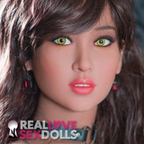 Exotic temptress premium high quality TPE replacement sex doll head #221