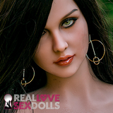 Fiercely sexy Gypsy, sex doll head #242