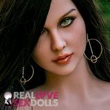 Fiercely sexy Gypsy, sex doll head #242