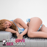 Passionate tease, curvy big breasts and ass life-like TPE sex doll Azalea 158cm G-cup