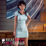 Cute honeypot lover realistic TPE sex doll companion Karina 166cm C-cup