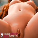Sexy sex doll with small pert tits and a big round ass