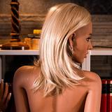 sex doll sexy blonde wig