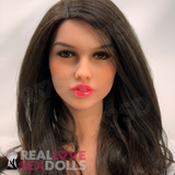 In-stock doll head 124 by Doll France
