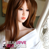 Sexy and demure high quality premium TPE sex doll head #173