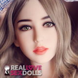 #53 Sex Doll Head at RealLoveSexDolls.com for TPE sex doll body.