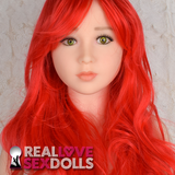 Long Red Sex Doll Wig