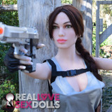 Lara Croft Tomb Raider Wig for sex doll cosplay