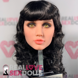 Bettie Page Pin Up sex doll wig
